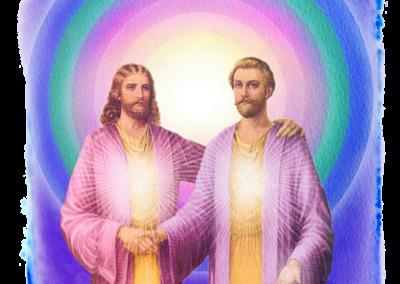 Maestros Saint Germain y Jesús